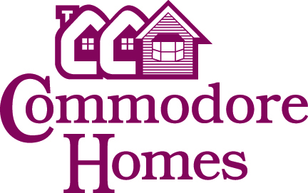 Custom Manufactured Homes in Gibraltor MI | Little Valley Homes - CommodoreHomes_logo