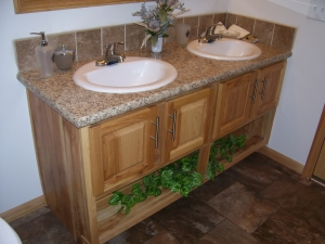Double Sink in Master Bath